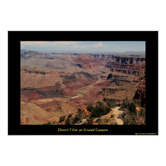 Grand Canyon Desert View Poster