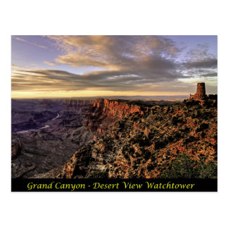 Grand Canyon - Desert View Watchtower Postcard