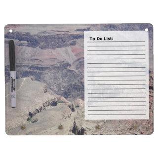 Grand Canyon Dry Erase Whiteboard