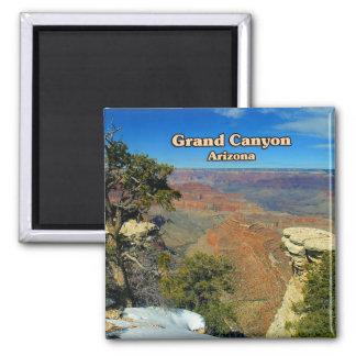 Grand Canyon Flagstaff Arizona 2 Inch Square Magnet