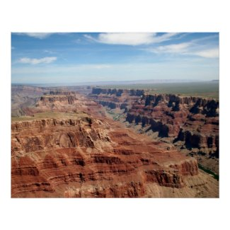 Grand Canyon From Air Posters