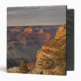 Grand Canyon from the south rim at sunset, 2 Binder