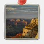 Grand Canyon from the south rim at sunset, 3 Christmas Ornament
