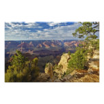 Grand Canyon from the south rim at sunset, 3 Photograph