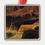 Grand Canyon from the south rim at sunset, 4 Christmas Tree Ornaments