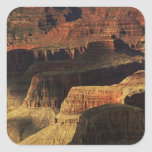 Grand Canyon from the south rim at sunset, 4 Square Sticker