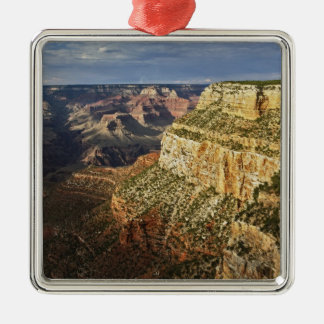 Grand Canyon from the south rim at sunset, 5 Metal Ornament