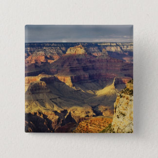 Grand Canyon from the south rim at sunset, Pinback Button