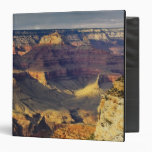 Grand Canyon from the south rim at sunset, Vinyl Binder