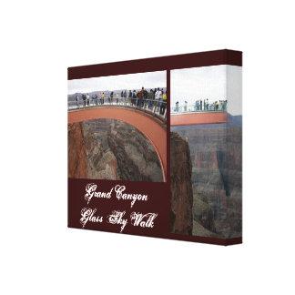 Grand Canyon Glass Skywalk Canvas