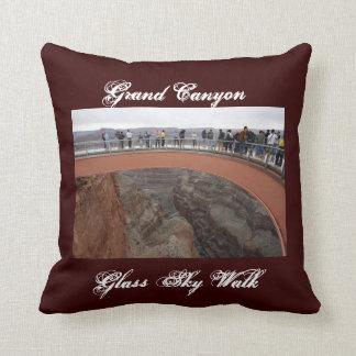 Grand Canyon Glass Skywalk Pillow