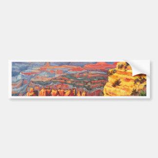 Grand Canyon Glory by Sandy Farley Bumper Sticker