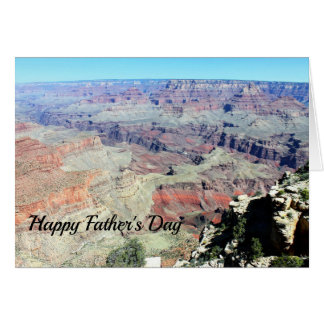 Grand Canyon Happy Father's Day Card