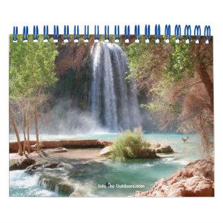 Grand Canyon (Havasu Falls) 2012 Calendar