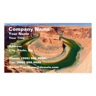 Grand Canyon Horse Shoe Bend Business Card