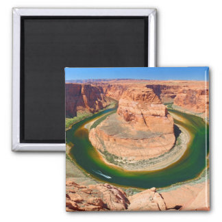 Grand Canyon Horse Shoe Bend 2 Inch Square Magnet