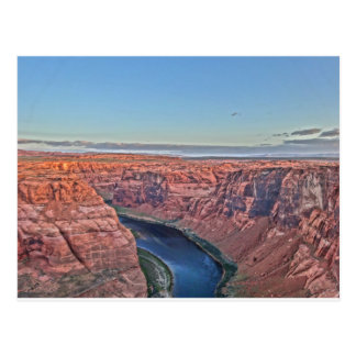 Grand Canyon Horse Shoe in Arizona Postcard