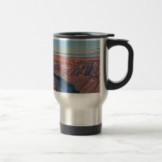 Grand Canyon Horse Shoe in Arizona Travel Mug