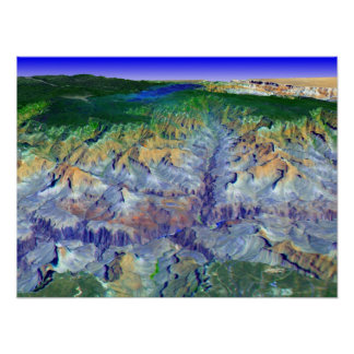 Grand Canyon in 3-D Posters