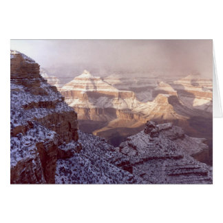 Grand Canyon in Winter Greeting Card