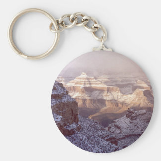 Grand Canyon in Winter Keychain