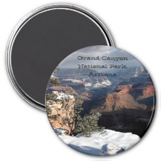 Grand Canyon In Winter Magnet