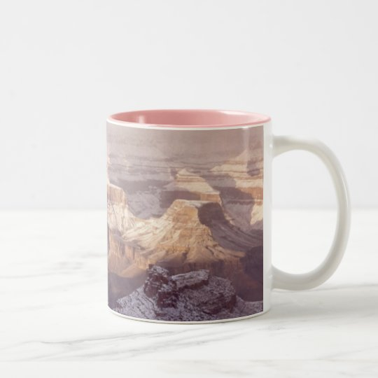 Grand Canyon in Winter Two-Tone Coffee Mug