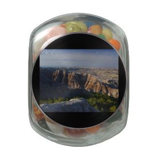 Grand Canyon Landscape Glass Candy Jars