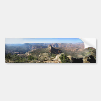 Grand Canyon - Monument Point - Bill Hall Trail Bumper Sticker