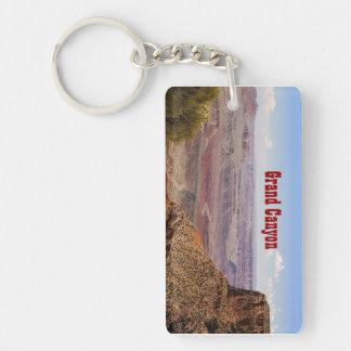 Grand Canyon Moran Point Rectangular Key Chain