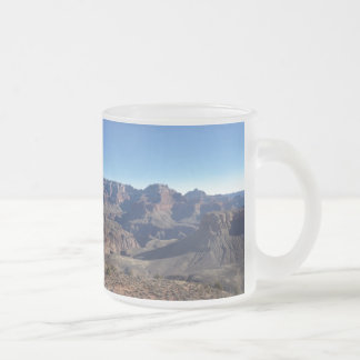 Grand Canyon 10 Oz Frosted Glass Coffee Mug