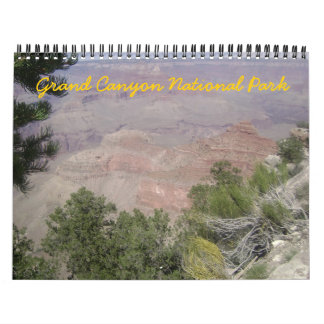 Grand Canyon National Park 2012 Calendar