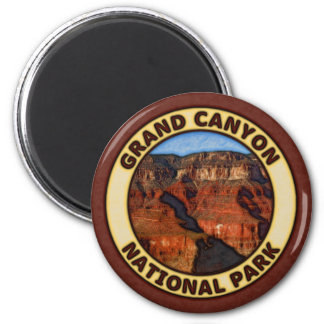 Grand Canyon National Park 2 Inch Round Magnet