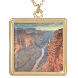 Grand Canyon National Park 3 Square Pendant Necklace