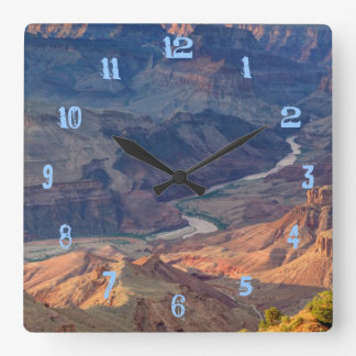 Grand Canyon National Park, Ariz Square Wall Clock