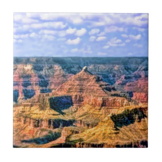 Grand Canyon National Park Arizona Ceramic Tile