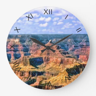 Grand Canyon National Park Arizona Large Clock