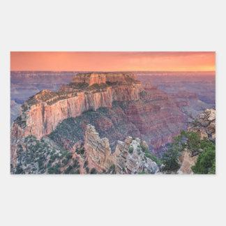 Grand Canyon National Park, Arizona Rectangular Sticker