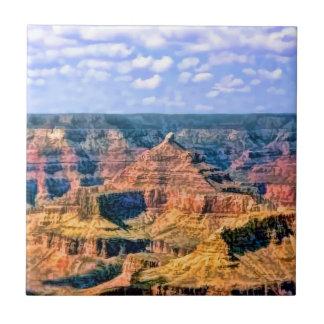 Grand Canyon National Park Arizona Small Square Tile