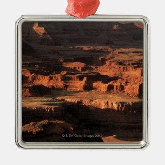Grand Canyon National Park , Arizona Square Metal Christmas Ornament