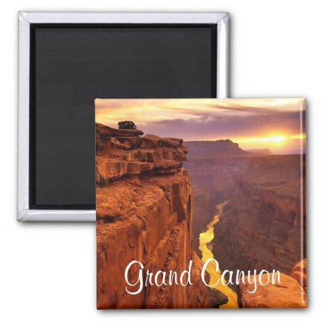 Grand Canyon National Park Arizona Sunset Magnet