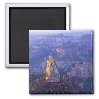 Grand Canyon National Park, Arizona, USA. View 2 Inch Square Magnet