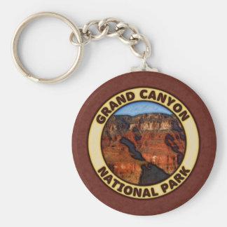 Grand Canyon National Park Basic Round Button Keychain