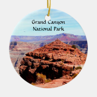 Grand Canyon National Park Double-Sided Ceramic Round Christmas Ornament