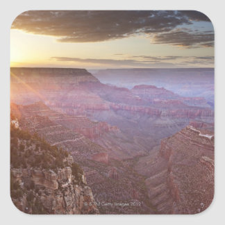 Grand Canyon National Park in Arizona Square Stickers