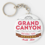 Grand Canyon national park Basic Round Button Keychain