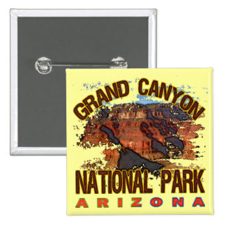Grand Canyon National Park Pinback Button