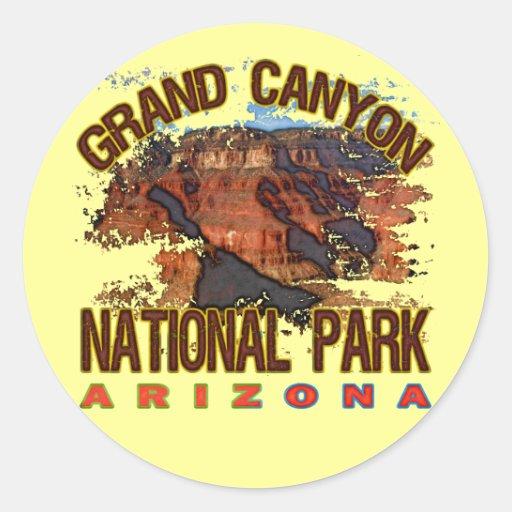 Canapé En Soldes Chez Fly : Grand Canyon National Park Classic Round Sticker  Zazzle