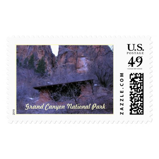 Grand Canyon National Park Shelter Postage Stamps