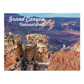 Grand Canyon National Park South Rim Postcard